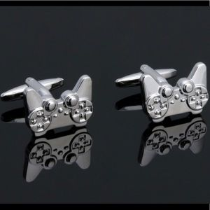 Other - Stainless Steel Game Console Cuff Links